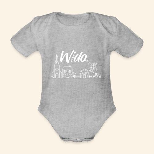 Wido Skyline - Baby Bio-Kurzarm-Body