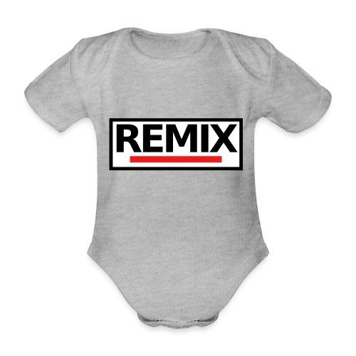 REMIX - Body Bébé bio manches courtes