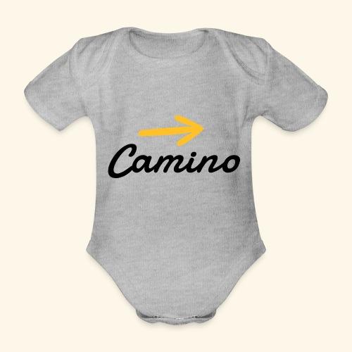 Camino, Follow the way - Body orgánico de manga corta para bebé