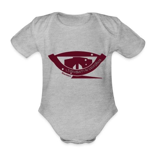 Benvenuti in California - Body ecologico per neonato a manica corta