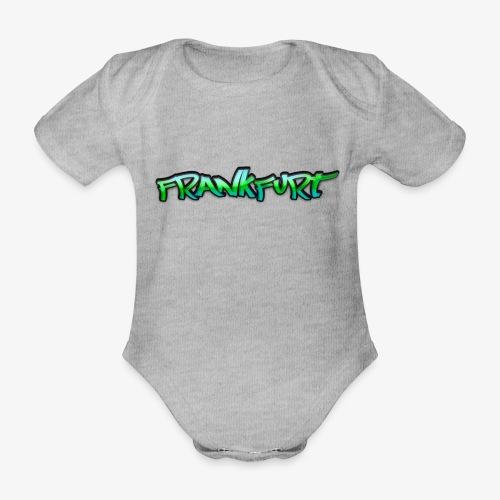 Gangster Frankfurt - Baby Bio-Kurzarm-Body