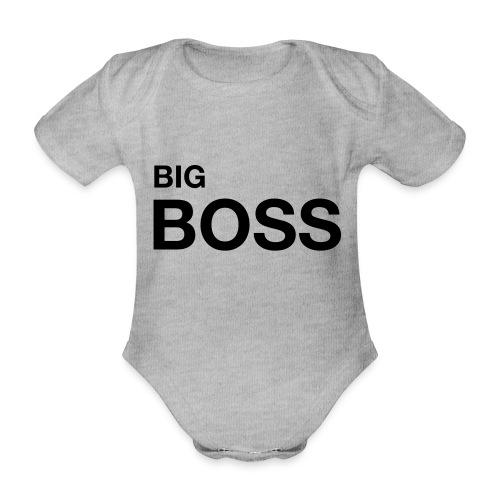big boss 01 - Baby Bio-Kurzarm-Body