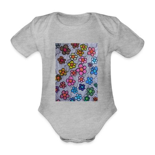 Pattern Contest #02 - Body ecologico per neonato a manica corta