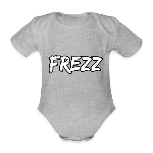 T Shirt FREZZ Noir&Blanc Classique (NOIR) - Body Bébé bio manches courtes