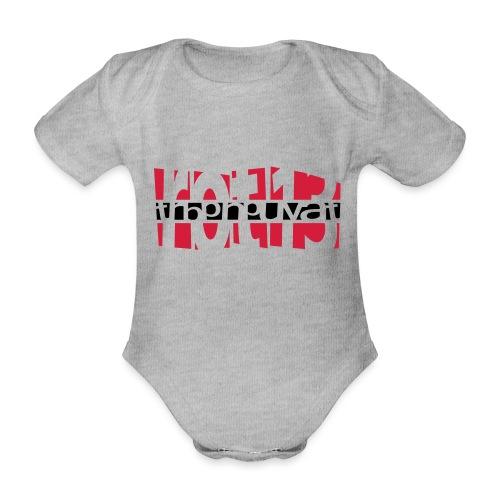 rot13 - 2colors - Baby Bio-Kurzarm-Body