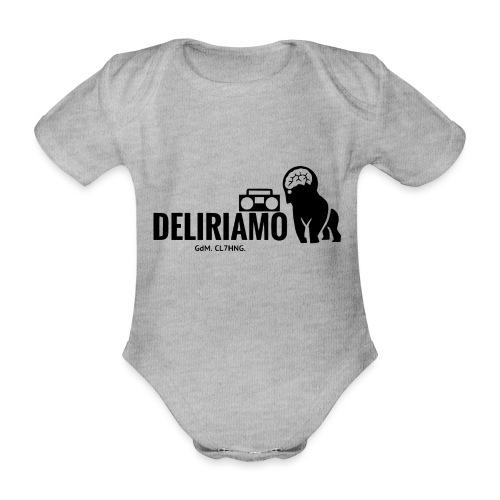 DELIRIAMO CLOTHING (GdM01) - Body ecologico per neonato a manica corta