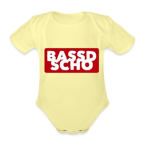 BASSD SCHO - Baby Bio-Kurzarm-Body
