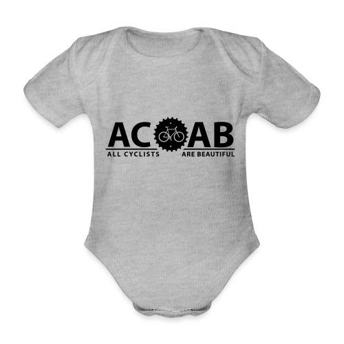 ACAB ALL CYCLISTS - Baby Bio-Kurzarm-Body