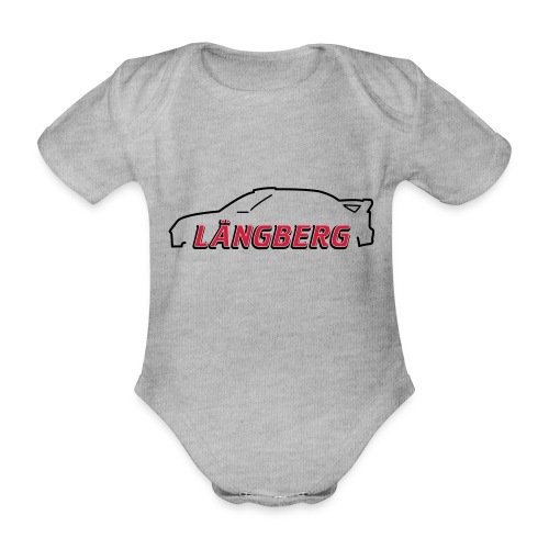 logotype Laengberg - Ekologisk kortärmad babybody