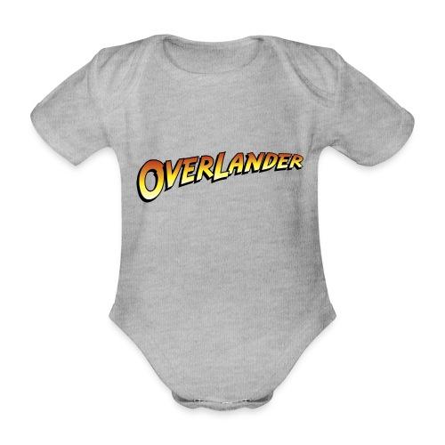 overlander0 - Økologisk kortermet baby-body