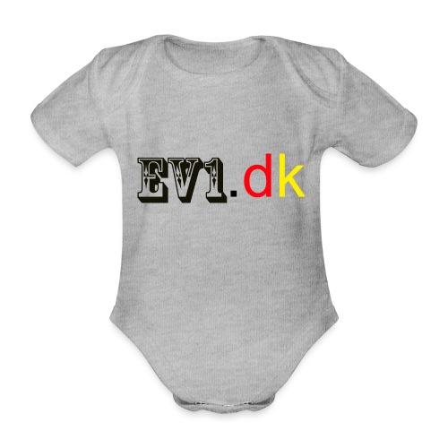 ev1 - Kortærmet babybody, økologisk bomuld