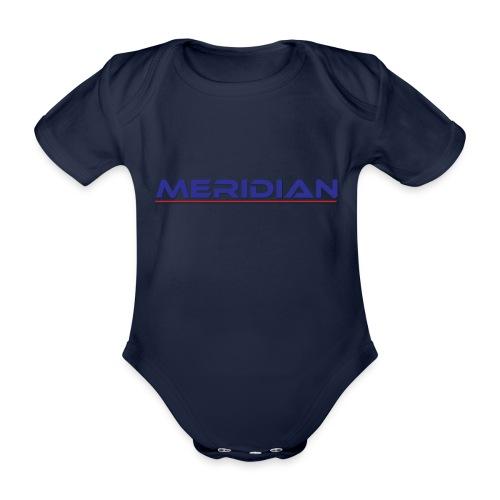Meridian - Body ecologico per neonato a manica corta