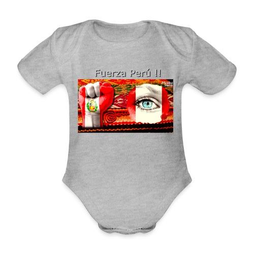 Telar Fuerza Peru I - Organic Short-sleeved Baby Bodysuit