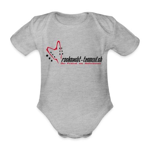 Rocknacht Original Logo - Baby Bio-Kurzarm-Body