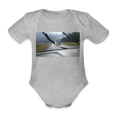 LKW - Truck - Neuseeland - New Zealand - - Baby Bio-Kurzarm-Body