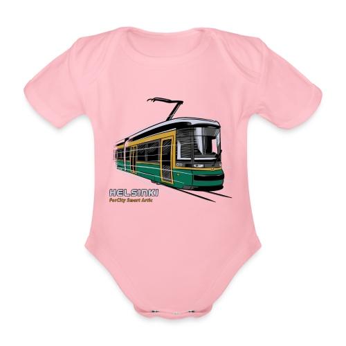 Helsingin Raitiovaunu T-paidat, 154 upeaa tuotetta - Vauvan lyhythihainen luomu-body