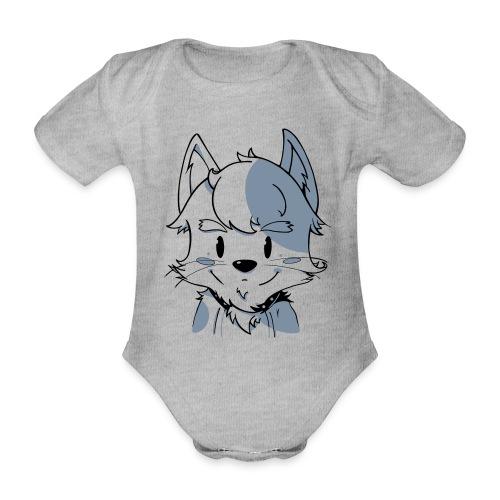 Cat - Organic Short-sleeved Baby Bodysuit