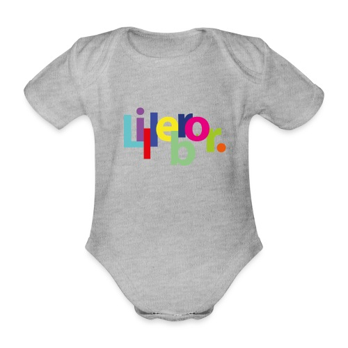 Lillebror - Organic Short-sleeved Baby Bodysuit