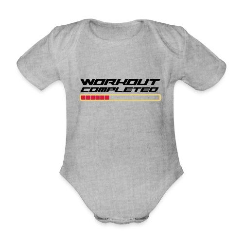 Workout Komplett - Baby Bio-Kurzarm-Body