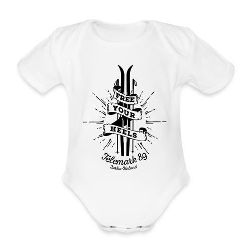 FreeYourHeels_merge - Vauvan lyhythihainen luomu-body