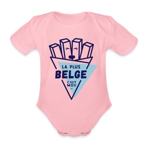 La+Belge - Body Bébé bio manches courtes