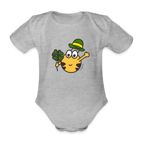 Glücksbringer - Baby Bio-Kurzarm-Body