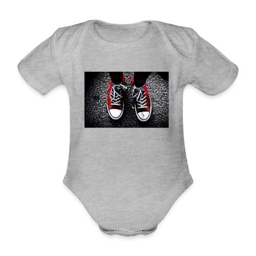 Sneakers - Ekologisk kortärmad babybody