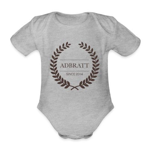 Adbratt - Ekologisk kortärmad babybody