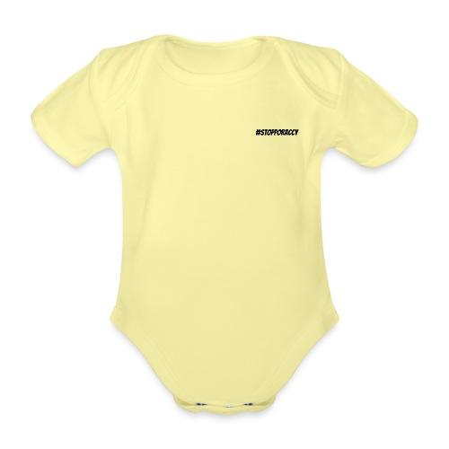 Stop Poraccy - Body ecologico per neonato a manica corta