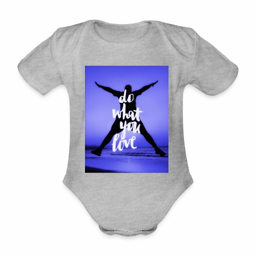 Sunset Beach 2 - Baby Bio-Kurzarm-Body