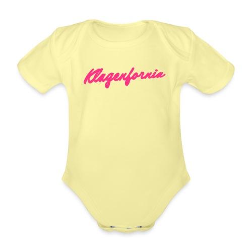 klagenfornia classic - Baby Bio-Kurzarm-Body