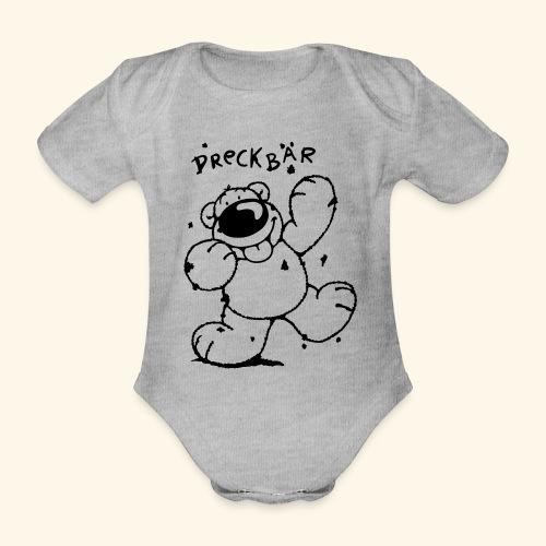 Dreckbär - Baby Bio-Kurzarm-Body