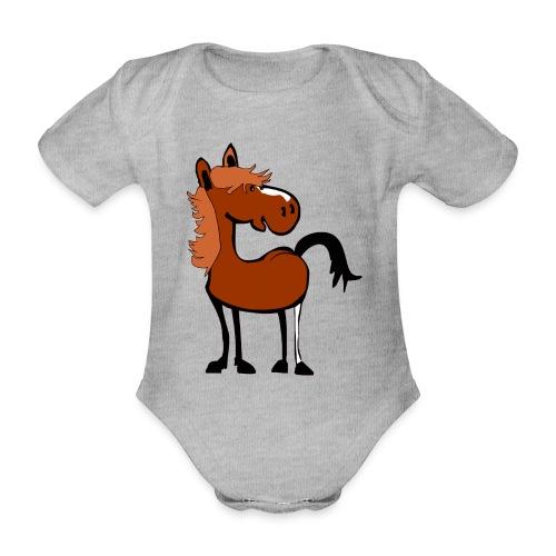 dpferd14 - Baby Bio-Kurzarm-Body