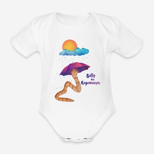 Billy der Regenwurm - Baby Bio-Kurzarm-Body