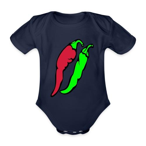 Chilli - Ekologiczne body niemowlęce z krótkim rękawem