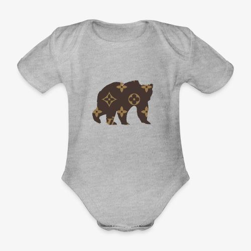 alouci x lv - Ekologisk kortärmad babybody