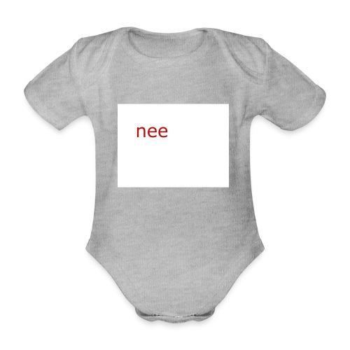 nee t-shirts - Baby bio-rompertje met korte mouwen