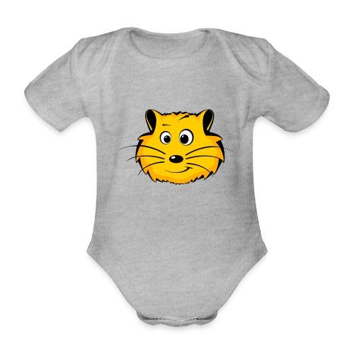 Hamster - Baby Bio-Kurzarm-Body