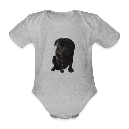 Otis_drukwerk_proef_zonder_doos - Organic Short-sleeved Baby Bodysuit