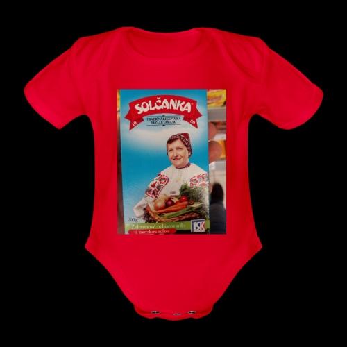 Babushka's fines - Organic Short-sleeved Baby Bodysuit