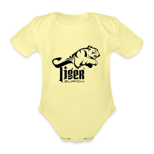 TIGER ZURICH digitaltransfer - Baby Bio-Kurzarm-Body