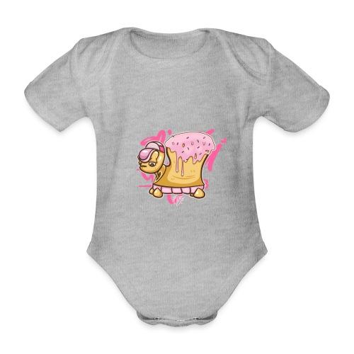 Donut Turtle Doughnut - Baby Bio-Kurzarm-Body