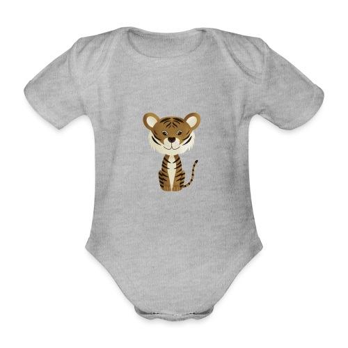 Tiger Monty - Baby Bio-Kurzarm-Body