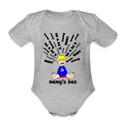 t shirt mamy cool déchire combien de mamy par jour - Body Bébé bio manches courtes