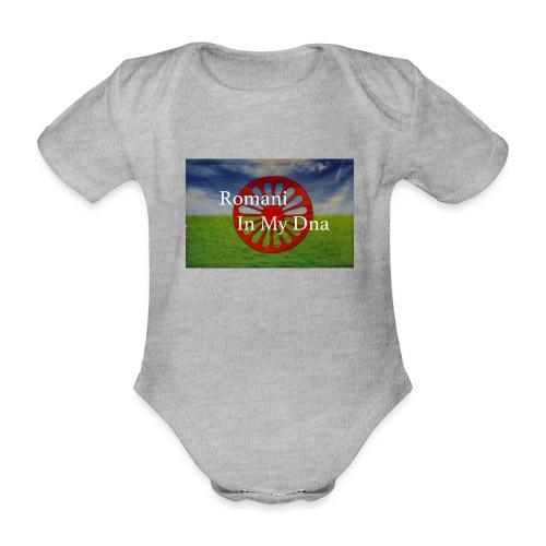 flagromaniinmydna - Ekologisk kortärmad babybody