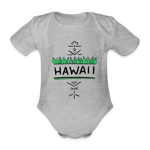 Hawaii - Baby Bio-Kurzarm-Body