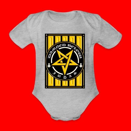 Damned - Organic Short-sleeved Baby Bodysuit