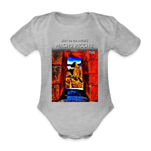 SOJA de los ANDES - Machu Picchu II - Body orgánico de manga corta para bebé