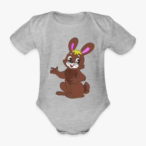 hase - Baby Bio-Kurzarm-Body