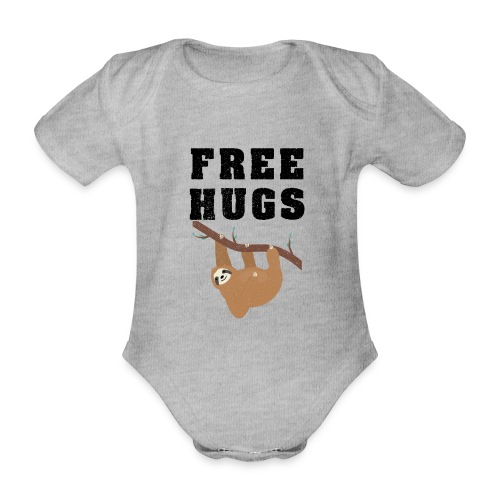 Funny Sloth Quotes - Baby Bio-Kurzarm-Body